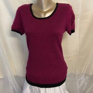 Reitman's short sleeved sweater
